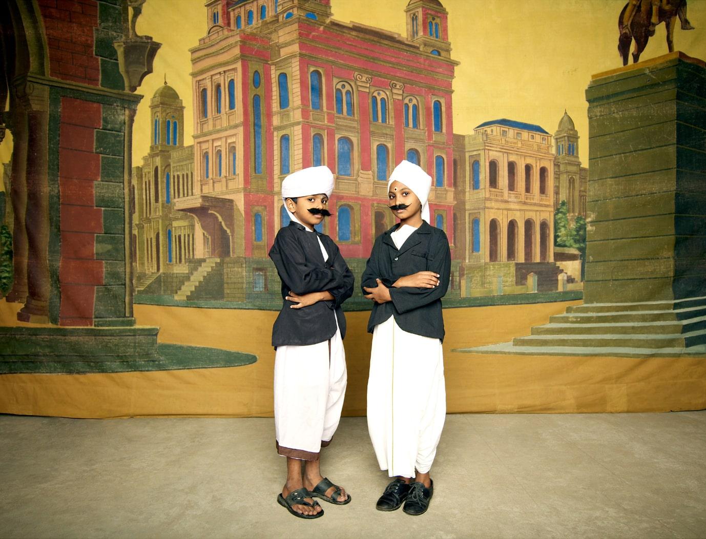 Nandini Valli Muthiah, <em>Two Bhartiyars,</em> 2010